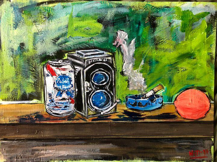 """Hipster Afternoon"" - Nathan Purrington Artwork"
