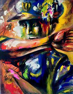 call - Paintings by Yuri Pinzon