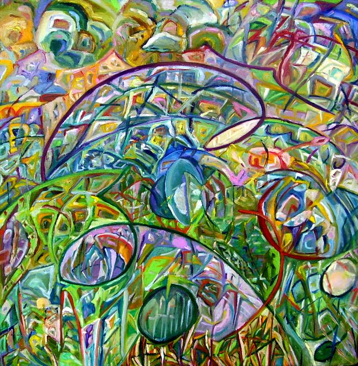 An expanse for wandering - Oksana Cherkas art