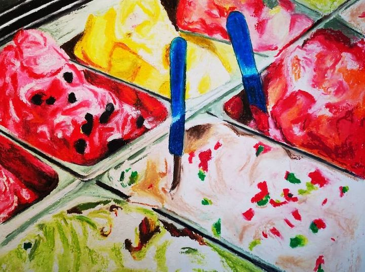 Yum! - Poonam Singh's Art