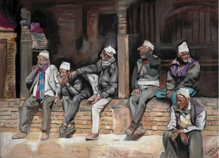 Leisure - Poonam Singh's Art