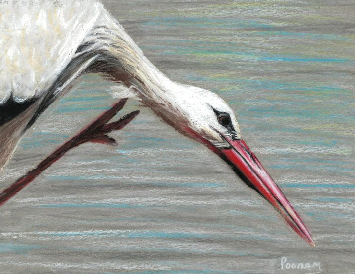 Bird Itch - Poonam Singh's Art