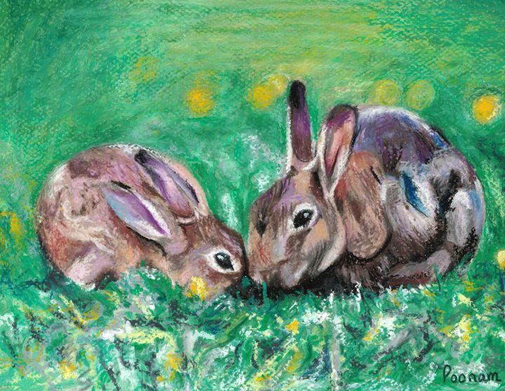 Bunnies - Poonam Singh's Art