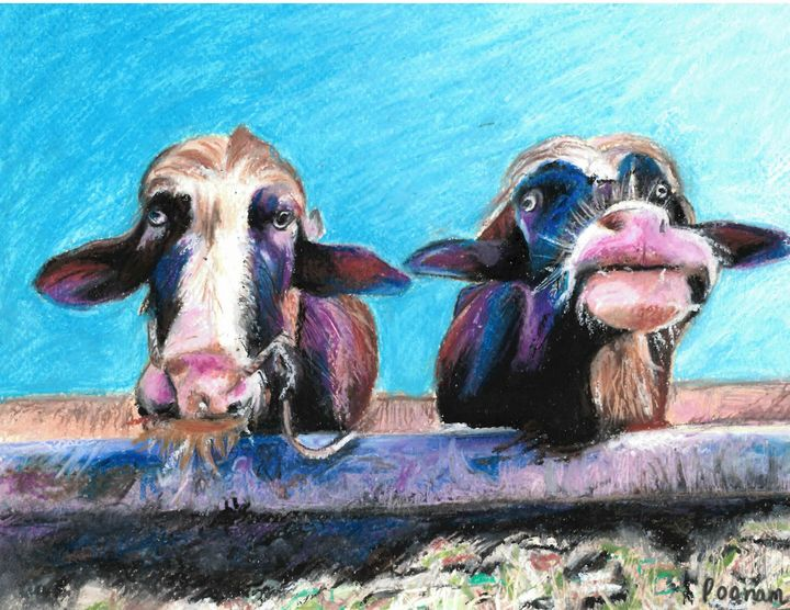Jill and Judy - Poonam Singh's Art