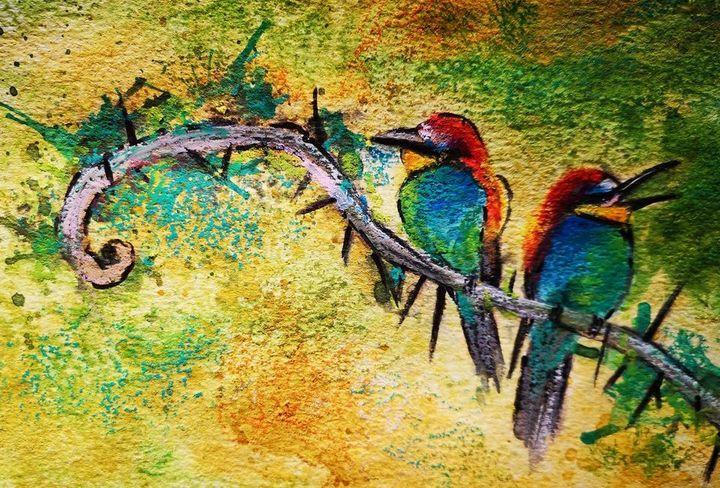 Middle Age Crisis - Poonam Singh's Art