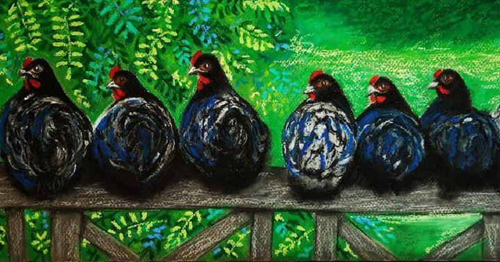 The Country Girls - Poonam Singh's Art