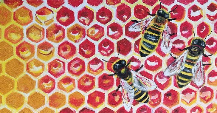 Hive Alive - Poonam Singh's Art