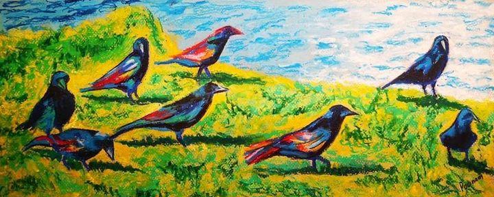 The Breakfast Club - Poonam Singh's Art