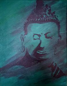 Contemplating Buddha
