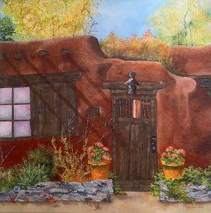 Southwestern Adobe Home