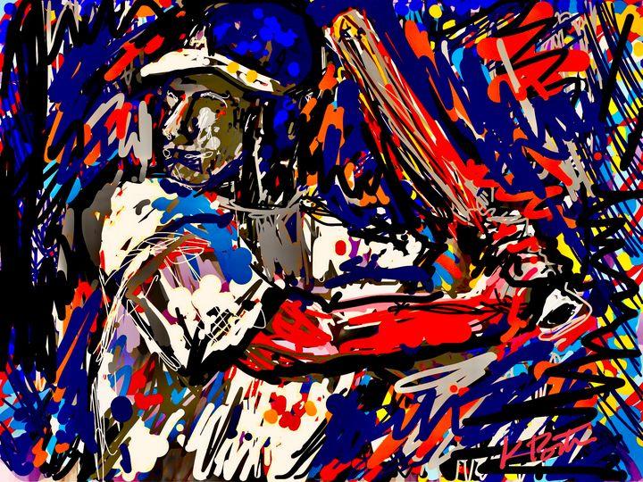 The Batter - Kenny P. Doodle Art