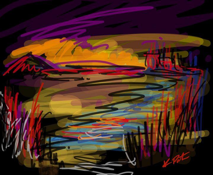 Night light 2 - Kenny P. Doodle Art