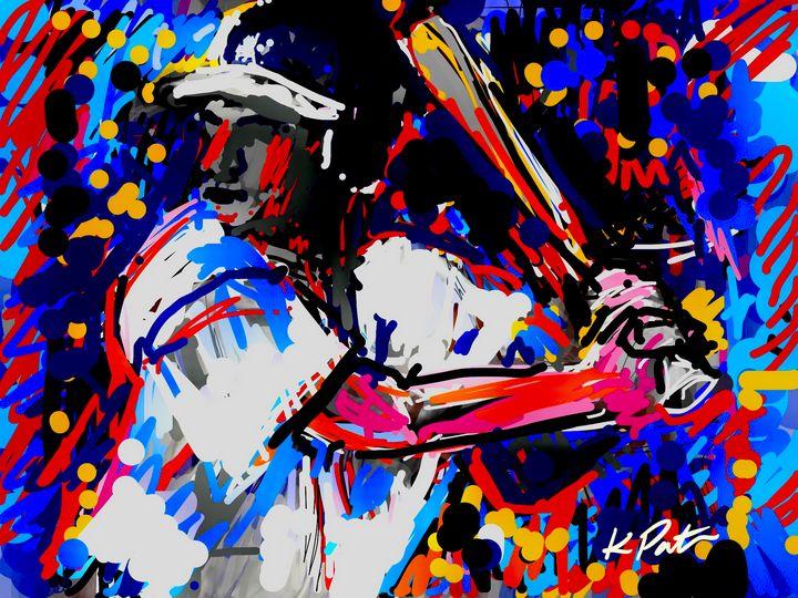 Batter Up - Kenny P. Doodle Art