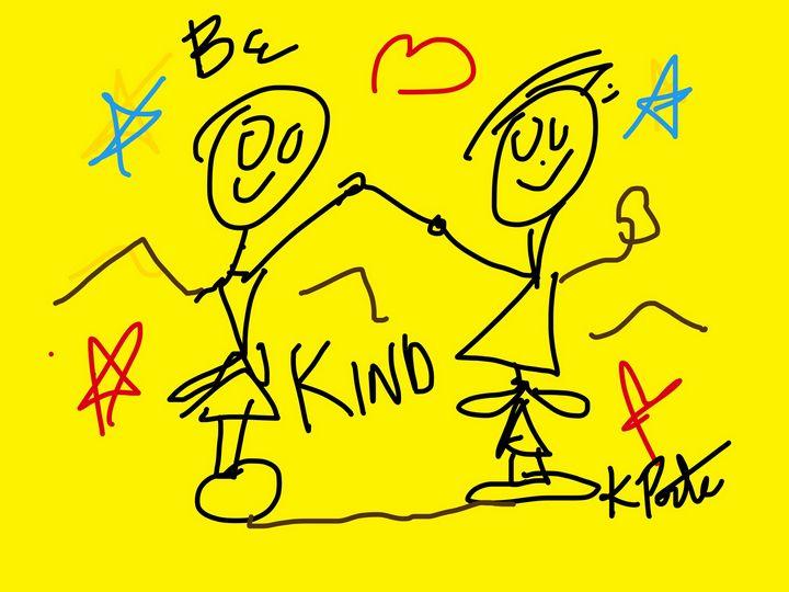 Be Kind - Kenny P. Doodle Art