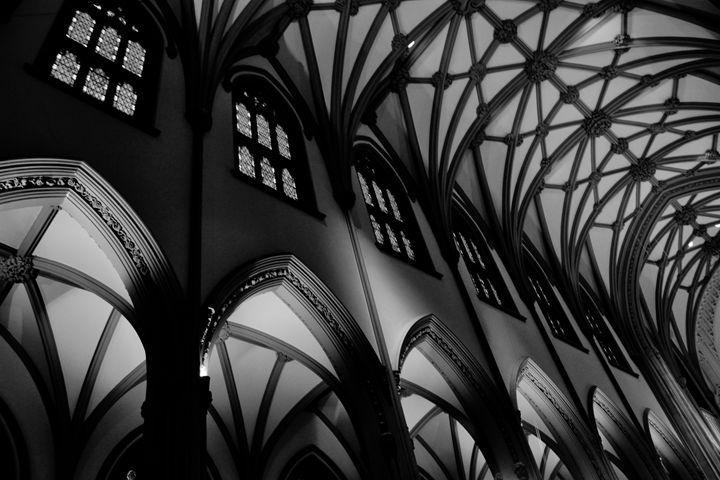 Trinity Church B&W - Lubit Arts