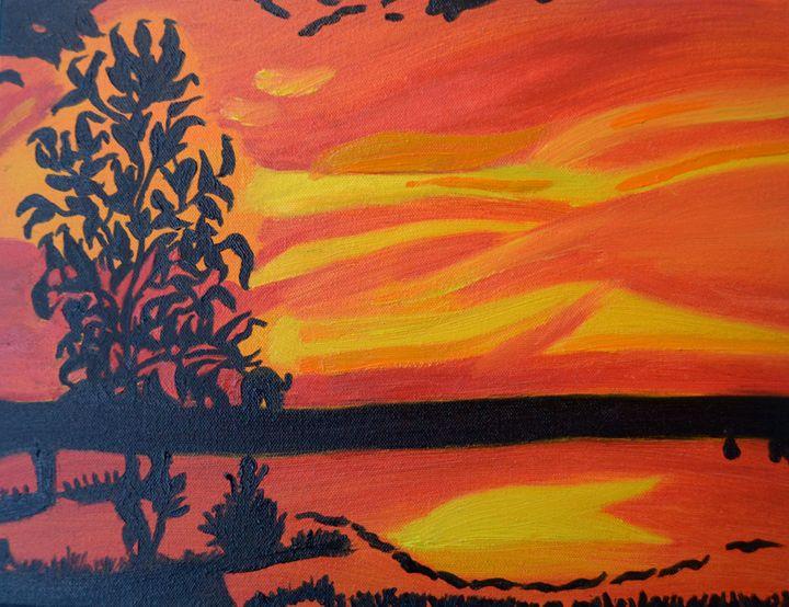 Silhouette Of Dusk - Vivid Palette