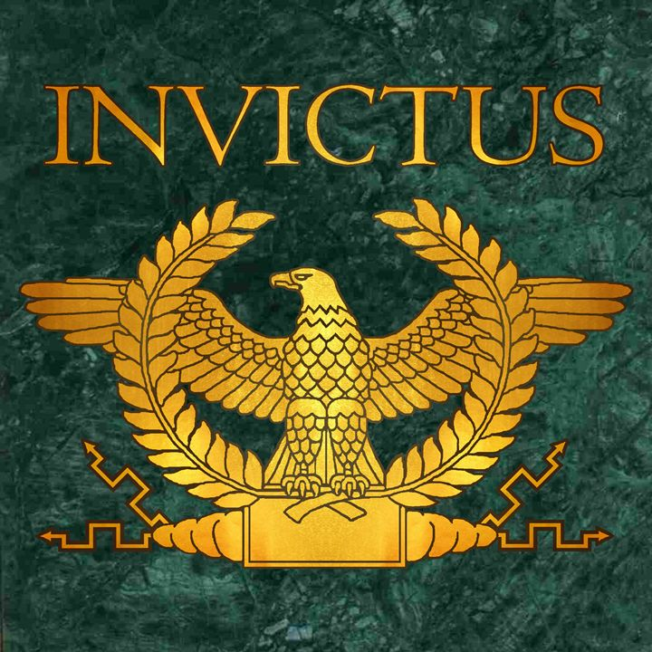 Invictus Golden Eagle on Marble - AtlanteanArts