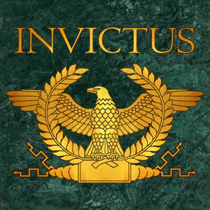 Invictus Golden Eagle on Marble