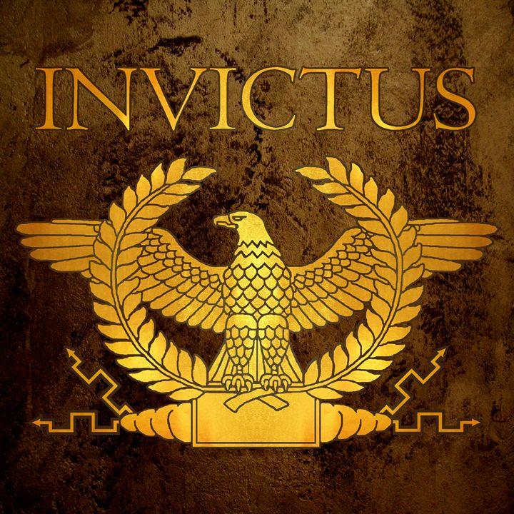 Invictus Golden Eagle on Bronze - AtlanteanArts