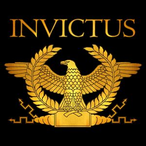 Invictus Golden Eagle on Black