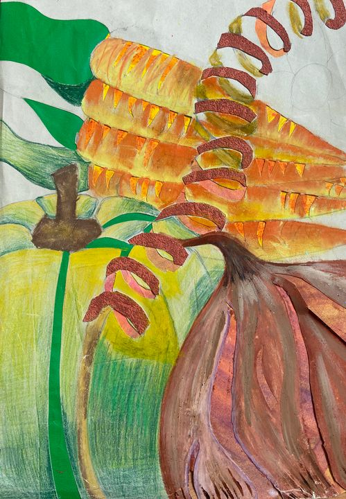 Vegetables in mixed colours - Emraesart