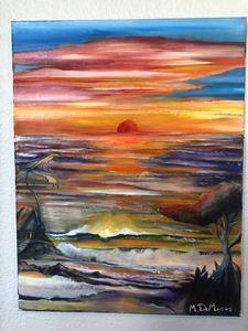 Surf Shack Sunset