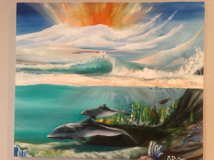 Malibu Under the Break - Matt Michael De Mattos