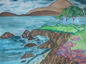 Landscape, seaart - DevArt