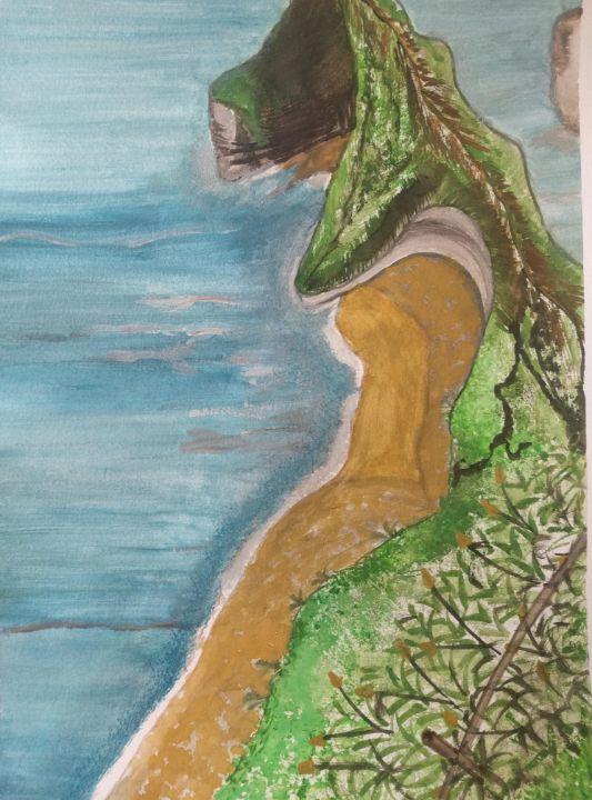 Mountains, Ocean, Beach - DevArt