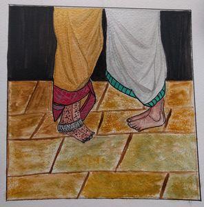 Indian, wedding art - DevArt