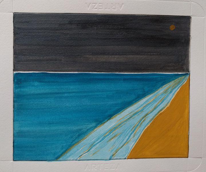 Abstract, Night Skyline - DevArt