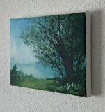 """Original painting, landscape, 6x8"""""""
