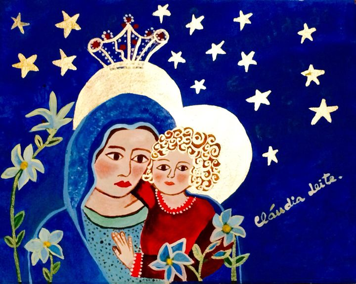 Our lady and Jesus 3 - Cláudia Leite