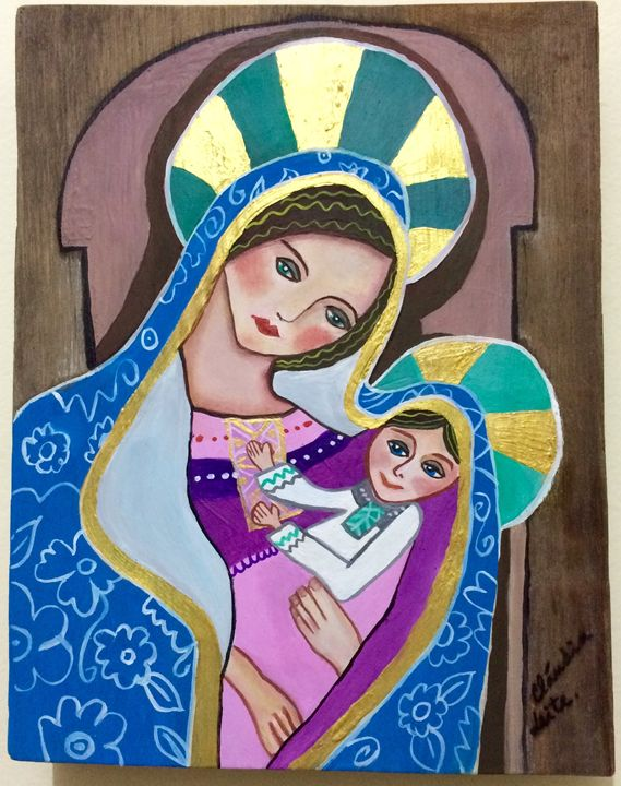 Our lady and Jesus - Cláudia Leite