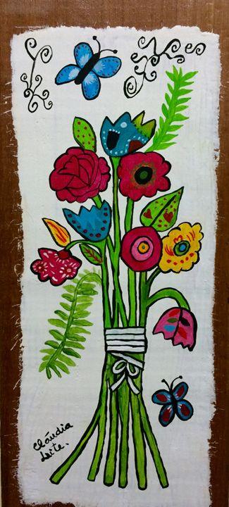 Spring flowers - Cláudia Leite