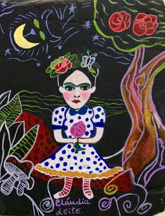 Frida in Wonderland - Cláudia Leite