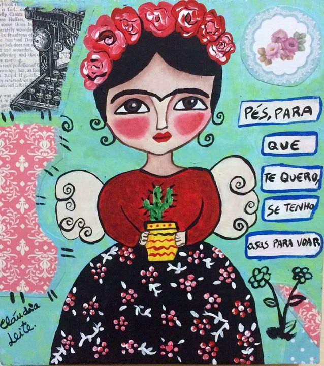 Angel Frida - Cláudia Leite
