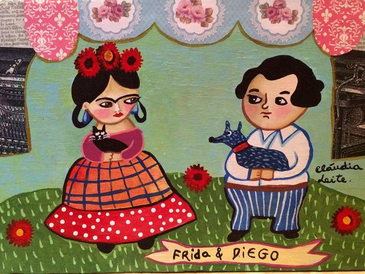 Frida And Diego - Cláudia Leite