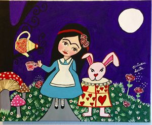 Frida in wonderland