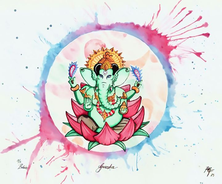 Ganesh the First - Ralphs Colours