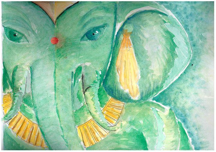 Ganesha the Second - Ralphs Colours
