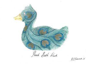Proud Bath Duck - Ralphs Colours