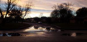 Sky puddle