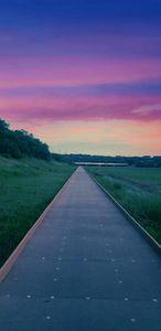A walk of color