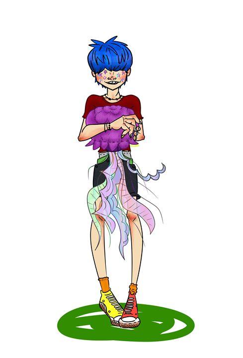 Jellyfish Prince - Ren's Art
