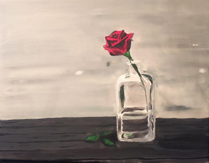 Rose on a ledge - Inspiration-J
