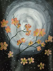 Acrylic night effect