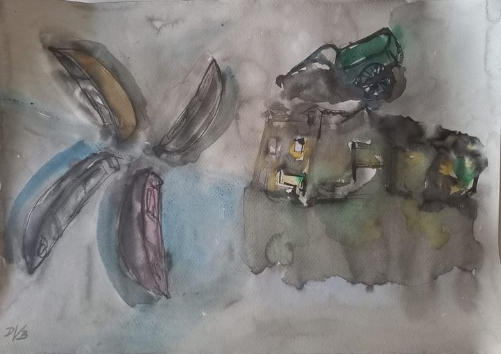 "Aquarell no.3 - Dino ""Magnificent"" Bakić"