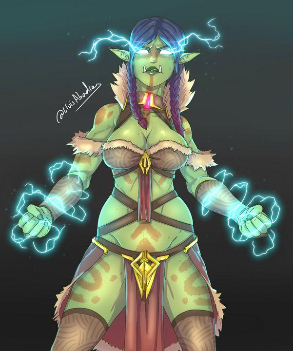 Sorceress - Laser Lluis