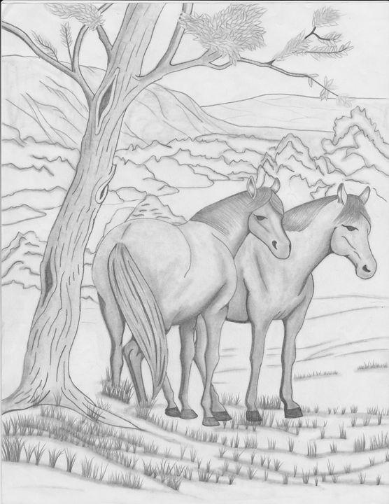 Horses - R.L. Thomason